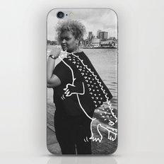 The Urban Crocodile Huntress iPhone & iPod Skin