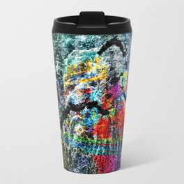 abstract   hj Travel Mug