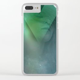 Prism Tombs III Clear iPhone Case