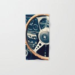 Old Triumph Wheel / Classic Cars Photography Hand & Bath Towel