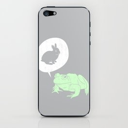 Frogs Say iPhone Skin
