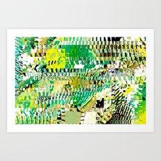 Meditation Transformation #3 Art Print