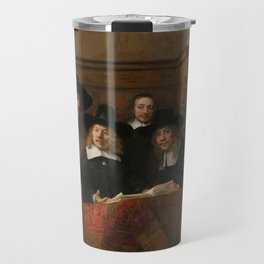 The Syndics of the Amsterdam Drapers' Guild Travel Mug