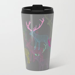 oh deer Metal Travel Mug