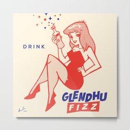 Glendhu Fizz Original Metal Print