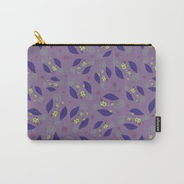 ladybug on the leaves moonlight Carry-All Pouch