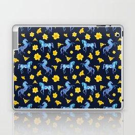 Precious blue horses Laptop & iPad Skin