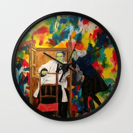 The sacrament of Penance and Reconciliation. Tristia. Done. Wall Clock
