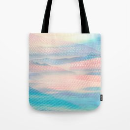 Tulle Mountains 2 Tote Bag