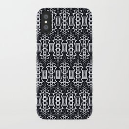 """Art Deco . """"Grey and gray . """" iPhone Case"""