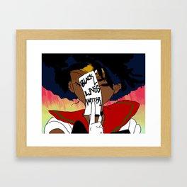 Sailor Afrolicious Framed Art Print