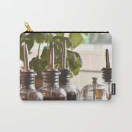 Olive and basilicum Carry-All Pouch