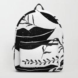 Black lips  Backpack