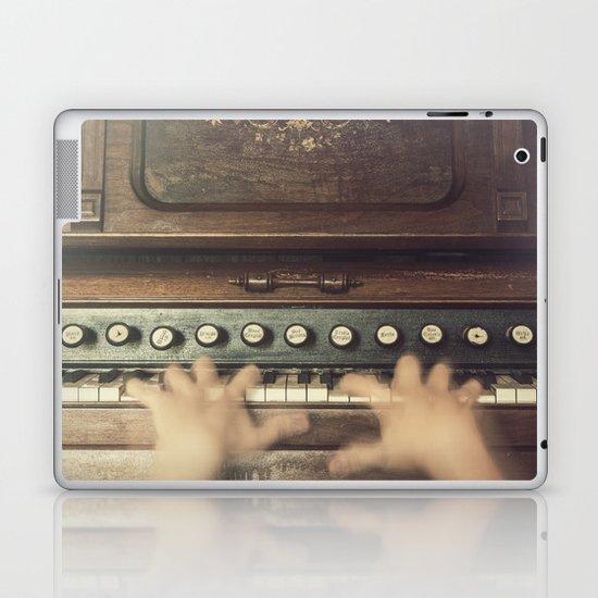 Frantic at the Keys Laptop & iPad Skin