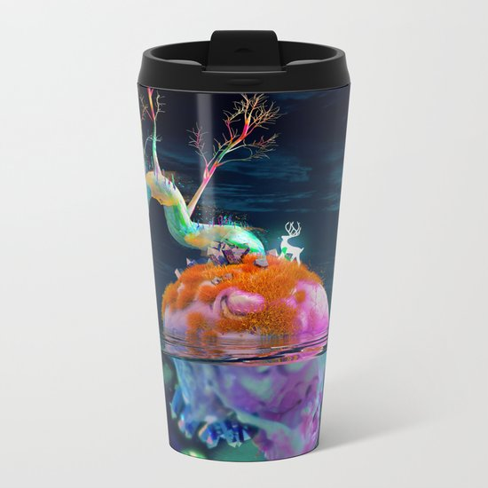Whispering Dreams Metal Travel Mug