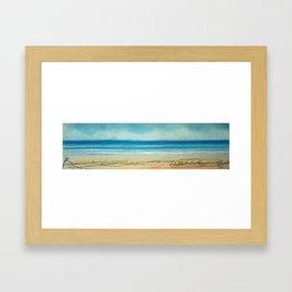 Marina ign Framed Art Print