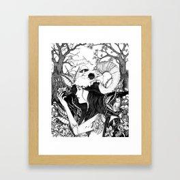 Nature goddess original Framed Art Print