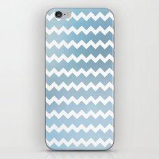 Blue Water Chevron iPhone & iPod Skin