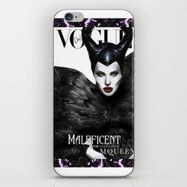 Maleficent x Alexander McQueen iPhone Skin