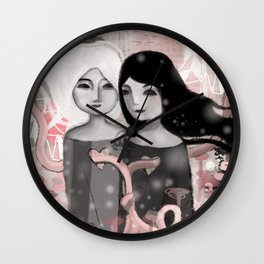 a lease of each other Wall Clock