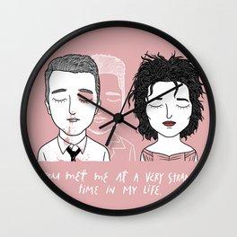 T & M Wall Clock