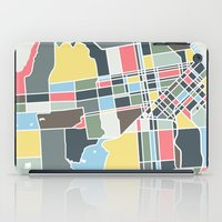 san francisco iPad Cases featuring San Francisco. by Studio Tesouro