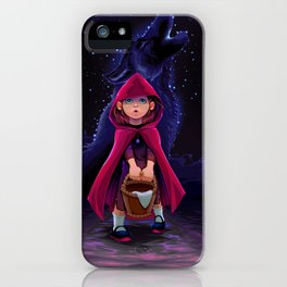 The initiation of Little Red Riding Hood iPhone Case