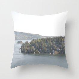 Deep Cove Throw Pillow