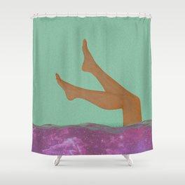 Sexy legs Shower Curtain