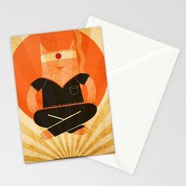 Meditation Levitation Stationery Cards