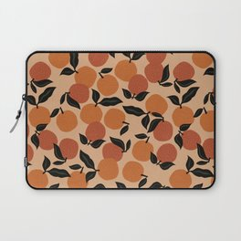 Seamless Citrus Pattern / Oranges Laptop Sleeve