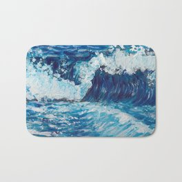 Crest of a Wave Bath Mat