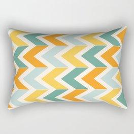 Citrus Chevron Rectangular Pillow