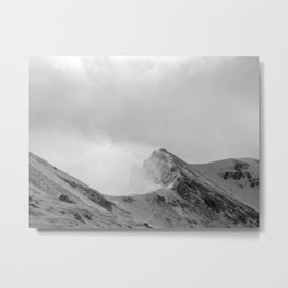 Grey Corries In Winter Metal Print
