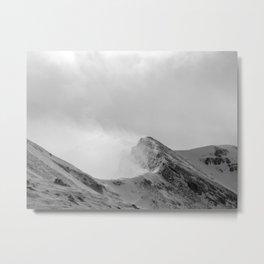 Grey Corries In Winter Metal Print