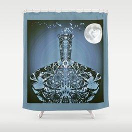 Moonlight Madness Shower Curtain