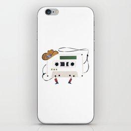 Cassette Cowboy iPhone Skin