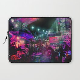 Tunes of the Night Laptop Sleeve