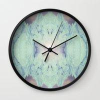crystal Wall Clocks featuring Crystal by Margit