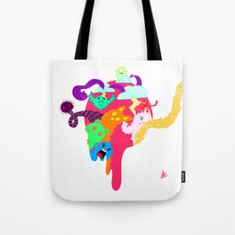 Monster Hole Tote Bag