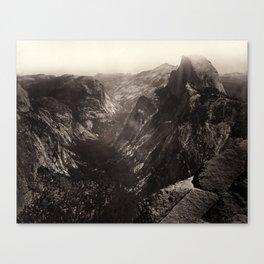 Half Dome, Yosemite Valley, California Canvas Print