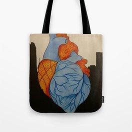 Thunder Heart Tote Bag