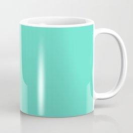 Aqua Blue Solid Color Coffee Mug