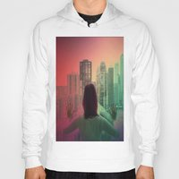 abyss Hoodies featuring CHICAGO ABYSS by Kelsey Barrentine