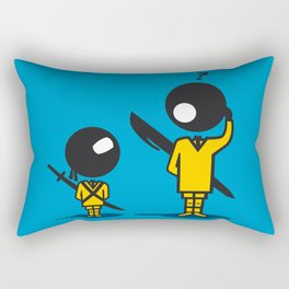 Bic Ninja Rectangular Pillow