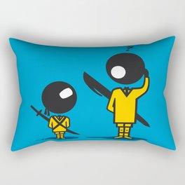 Bic Ninja Rectangular Pillow