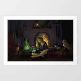 Feeling Witchy Art Print