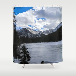 Bear Lake, Colorado Shower Curtain