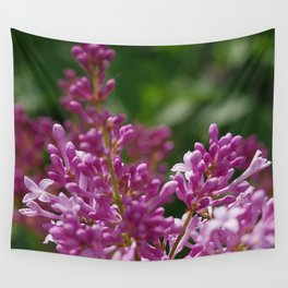 Spring lilac Wall Tapestry