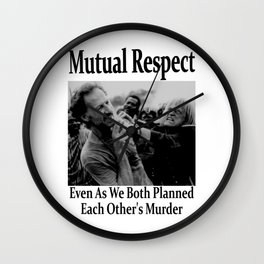 Werner Herzog and Klaus Kinski's Mutual Respect Wall Clock